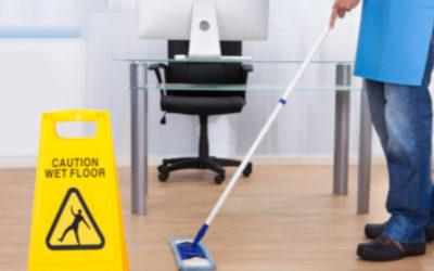 Servicio de limpieza tras el verano